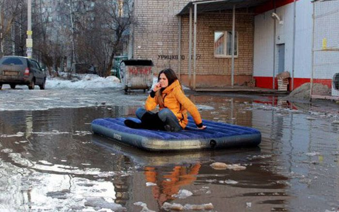 Фото, которые возможно было сделать только в России. Часть 27 (41 фото)