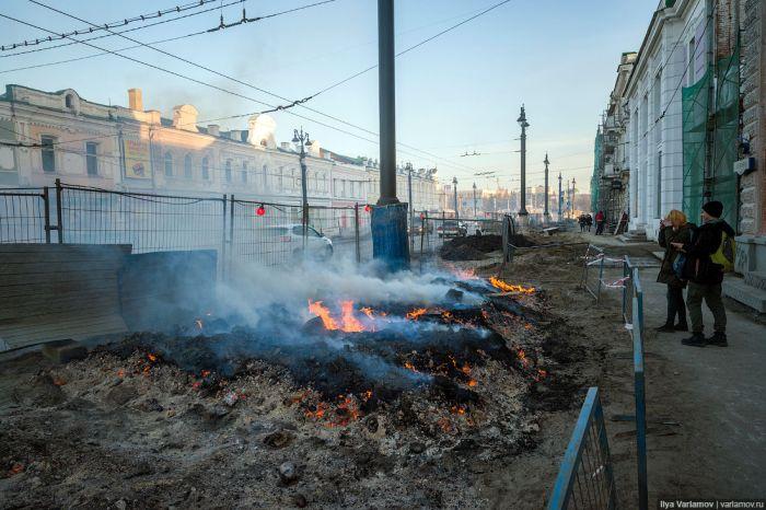 Омск в преддверии празднования 300-летия (48 фото)