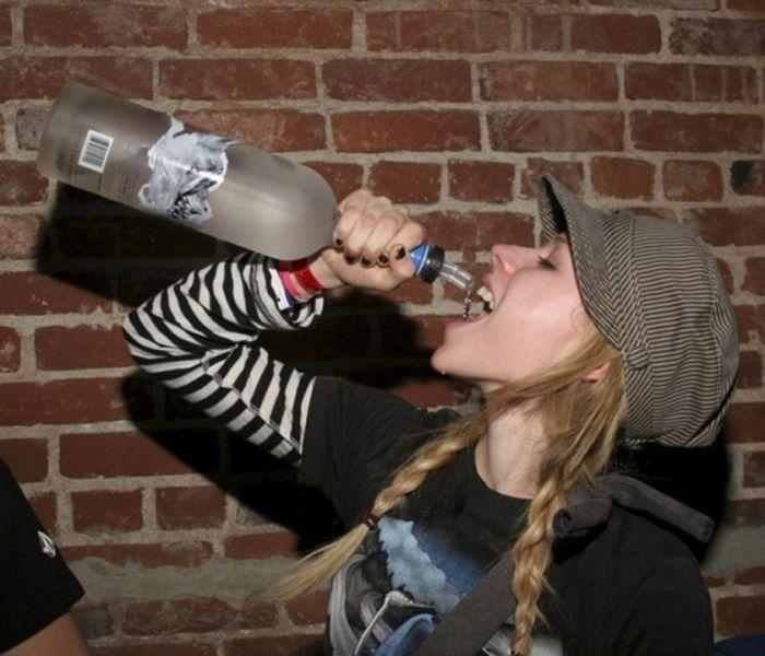 Пьяные звезды на вечеринках (20 фото)
