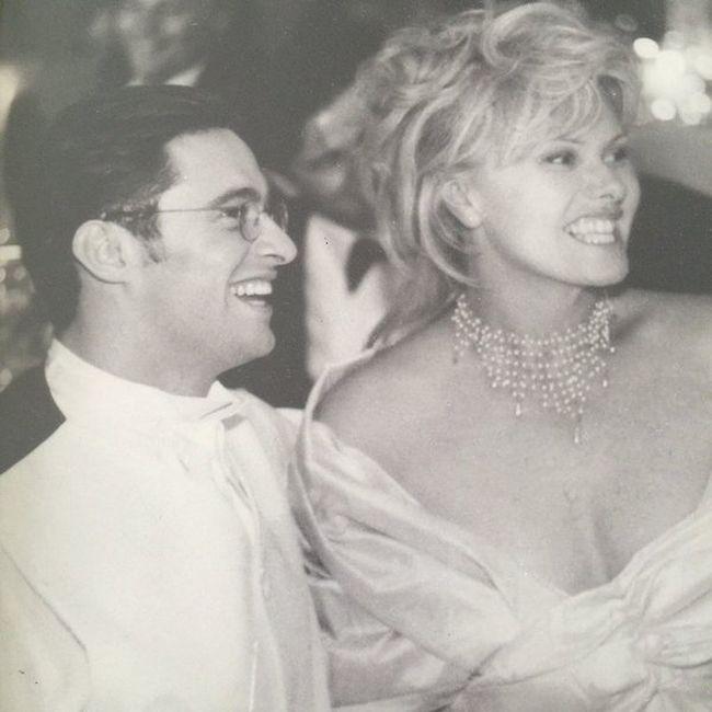 Хью Джекман с супругой Деборрой-Ли Фернесс на Карибах (5 фото)