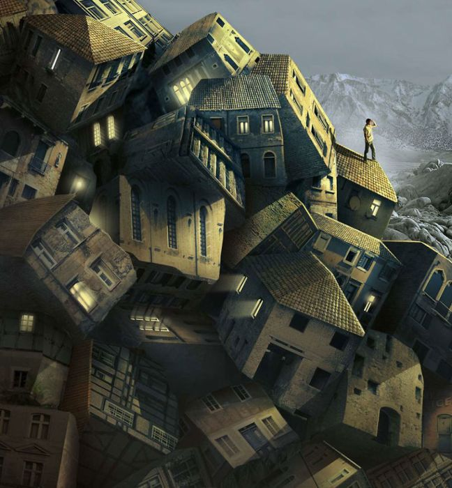 Сюрреалистичные изображения Игоря Морски (27 рисунков)