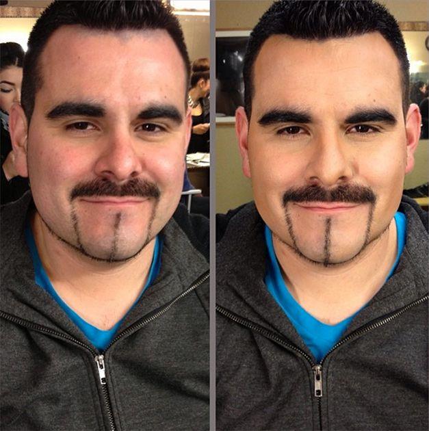 Мужчины начали осваивать косметику, чтобы добавить себе привлекательности (16 фото)