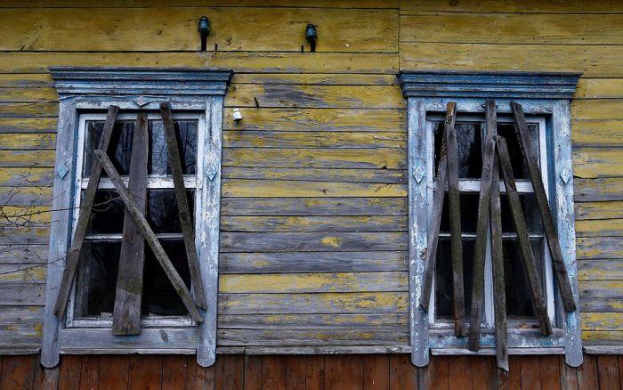 Жизнь в зоне отчуждения Чернобыльской АЭС (19 фото)
