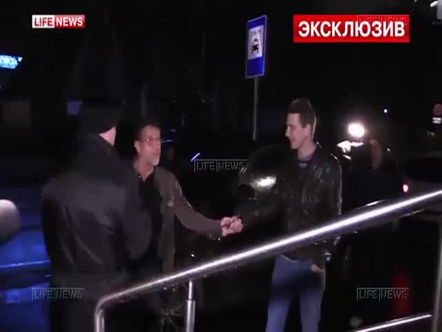 Леонид Ярмольник набросился на журналистов