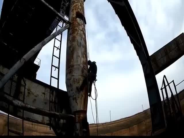 Утилизация шагающего экскаватора