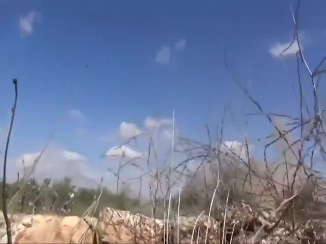 Сирийский репортер попал под удар