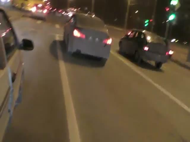 Активисты движения «СтопХам» задержали пьяного водителя