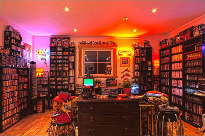 Комнаты геймеров, о которых мечтает каждый (24 фото)