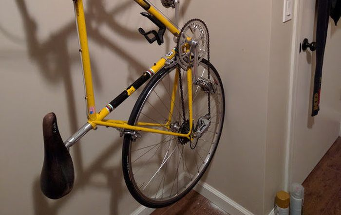 Настенные крепления для велосипеда своими руками (7 фото)