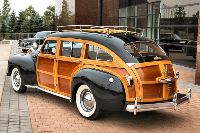 Деревянные машины XX века (20 фото)