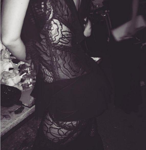 Откровенные фото Ким Кардашьян со свадьбы бразильской модели Изабеллы Рангл (14 фото)