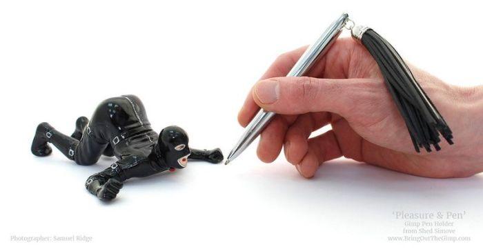 Пишущая ручка для поклонников садомазохизма (5 фото)