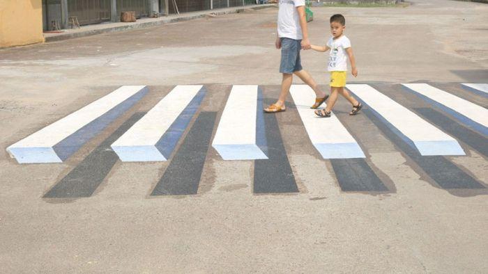 3D пешеходные переходы (5 фото)