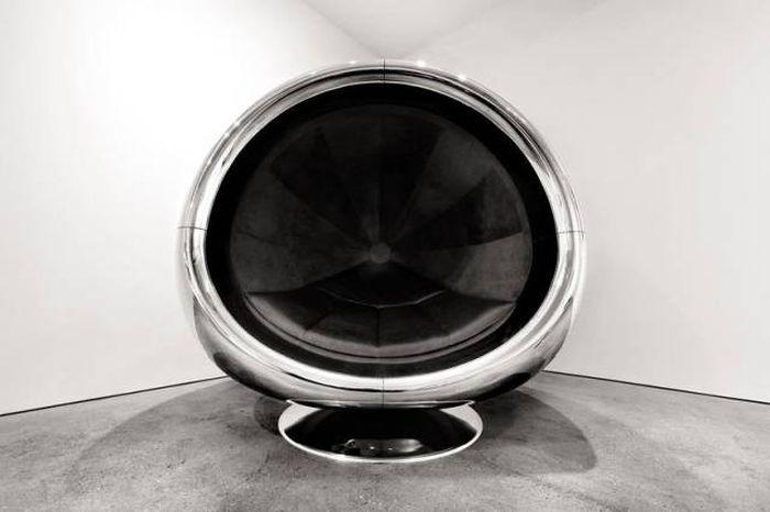 Уникальная мебель из деталей самолетов (13 фото)
