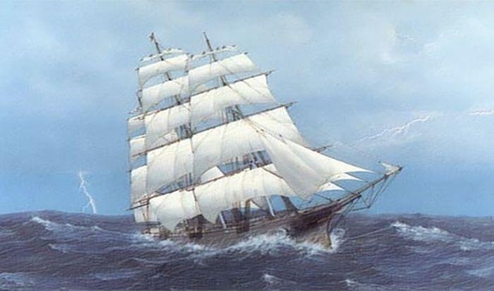 Удивительные истории от мореплавателей (24 фото)