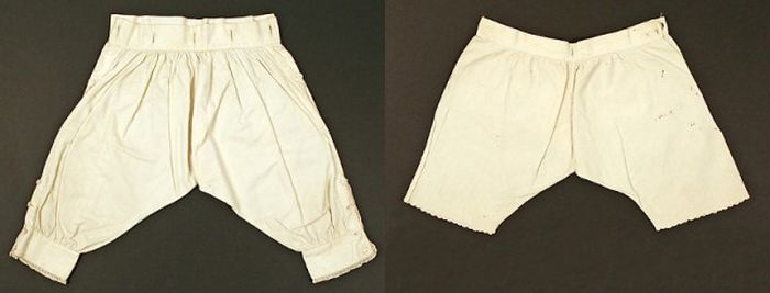 История развития нижнего белья (21 фото)