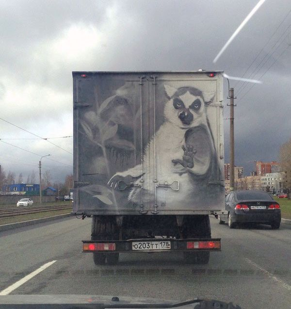 Актуальный автомобильный юмор (41 фото)