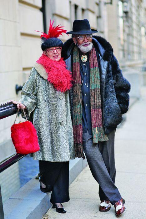 Пожилые люди с отличным чувством стиля (25 фото)