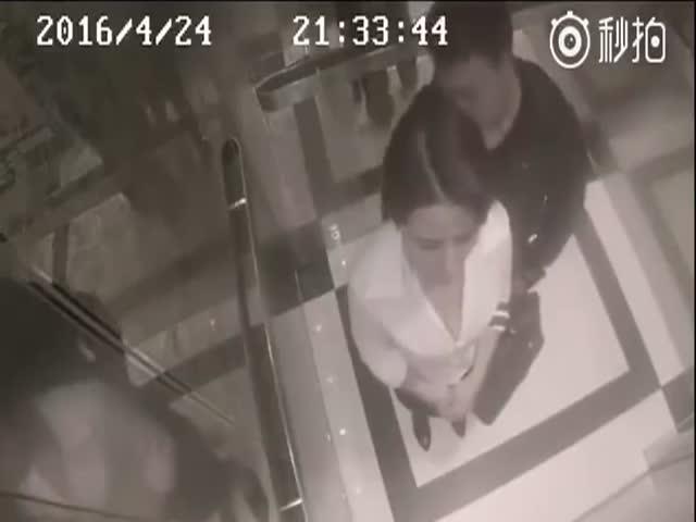 Девушка дала достойный отпор пьяному парню