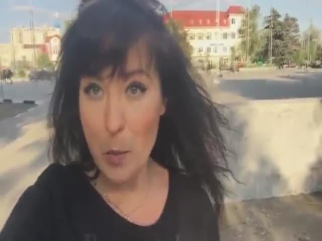 Комментарий жены по поводу выброшенных в окно чемоданов