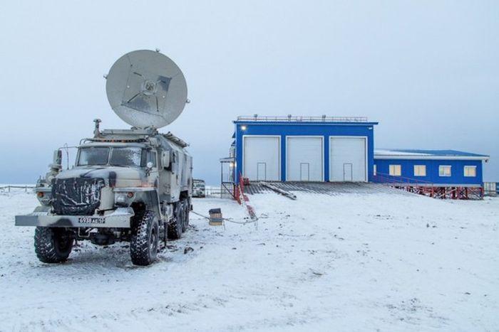 «Арктический трилистник» - уникальный военный объект в Арктике (17 фото)