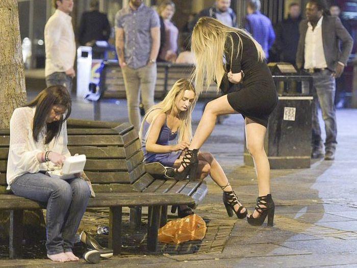 Британская молодежь в первомайские выходные (25 фото)