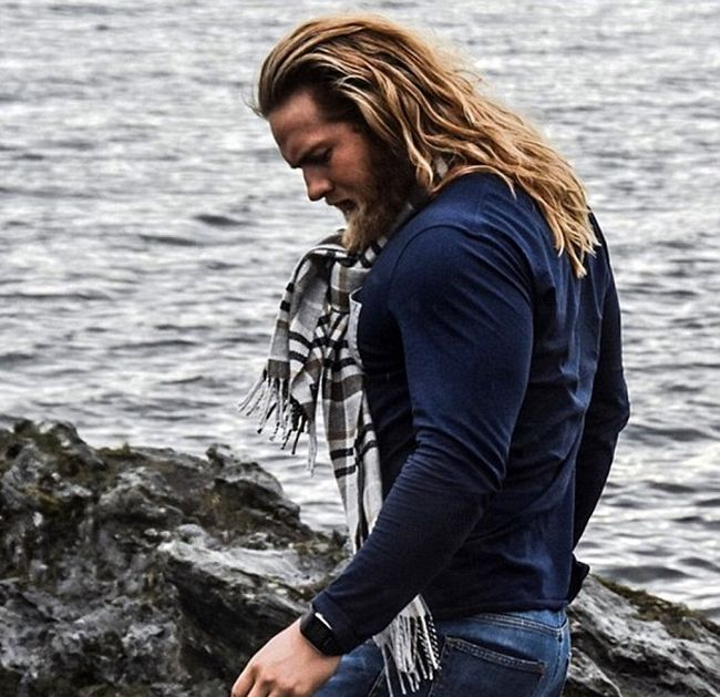 Ласс Матберг - настоящий современный викинг (20 фото)