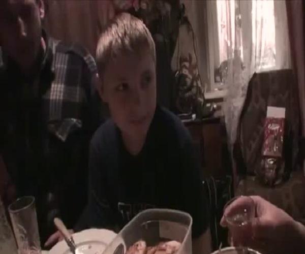 Бабушка поздравила внука