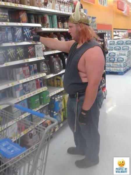 Смешные люди из супермаркетов. Часть 28 (44 фото)