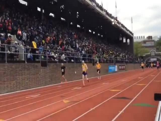 В США 100-летняя женщина установила рекорд в беге на 100 метров