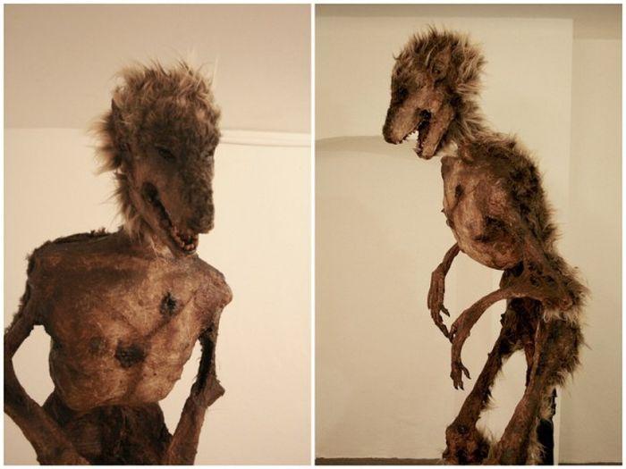 Оригинальная коллекция макетов тел мифических существ (23 фото)