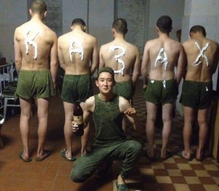 Современная дедовщина в российской армии (5 фото + 2 видео)