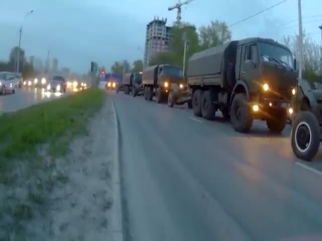 В Новосибирске военные потеряли пушку