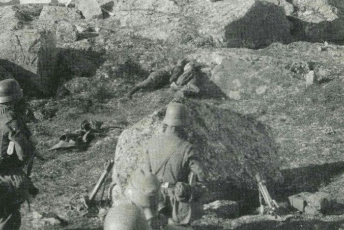 Храбрые красноармейцы, героически принявшие смерть в июле 1941 года (5 фото)