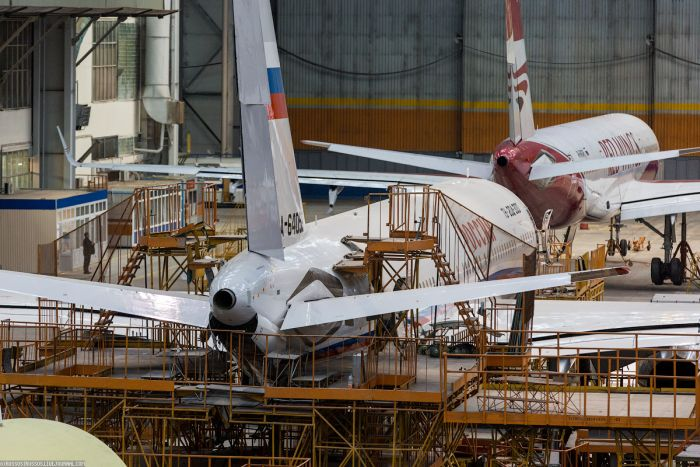 Виртуальная экскурсия по авиастроительному заводу «Авиастар-СП» (30 фото)