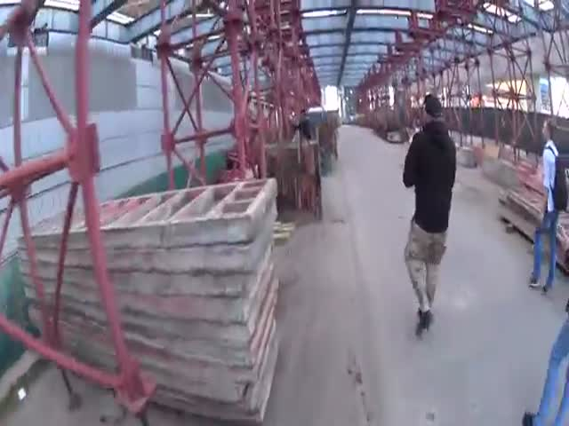 Руферы на строящихся объектах бизнес-центра «Москва-Сити»