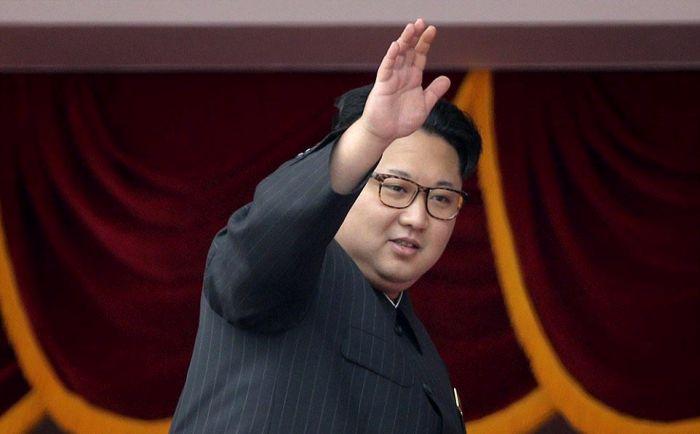 В Северной Корее отметили съезд правящей партии (34 фото)