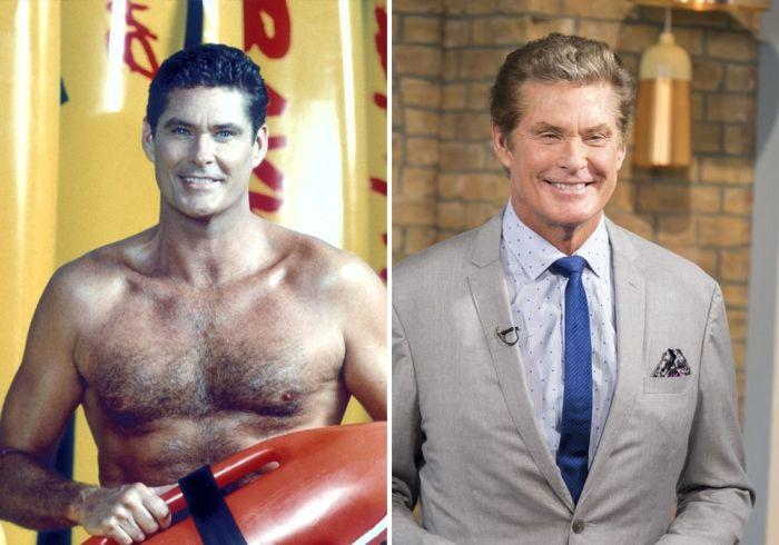 Актеры сериала «Спасатели Малибу» тогда и сейчас (14 фото)