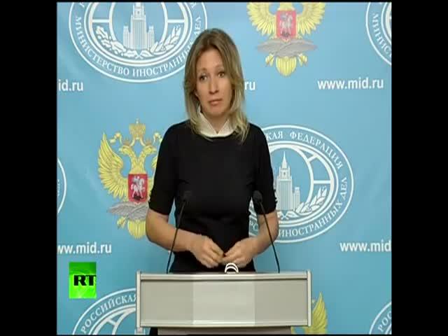 Мария Захарова рассказал анекдот про президента Украины и Крым