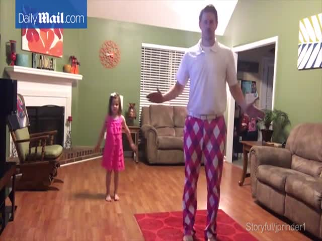 Танец отца и дочери на песню Джастина Тимберлейка покорил пользователей сети