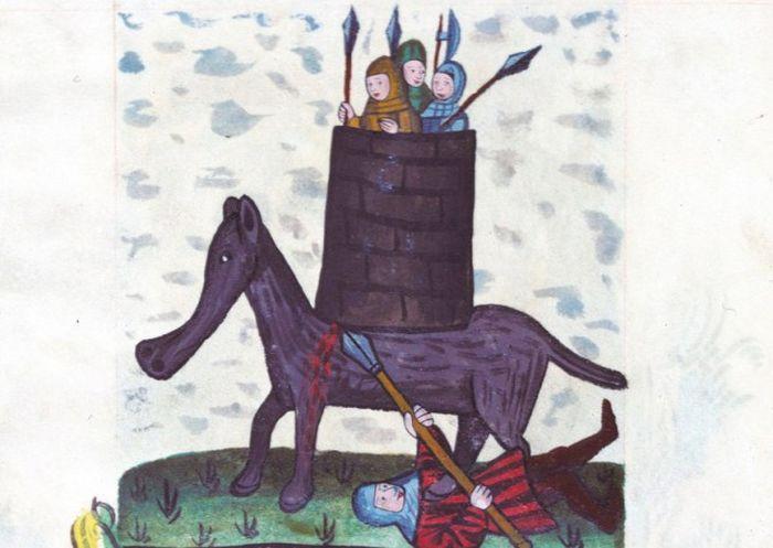 Как средневековые художники слонов рисовали (20 фото)