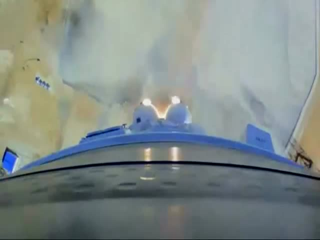 Запись запуска ракеты-носителя «Союз-2.1а» с внешних камер