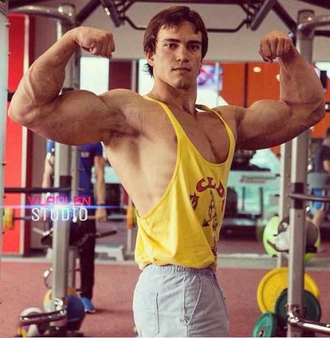 Антон Рыскин - «русский клон» Арнольда Шварценеггера (10 фото)