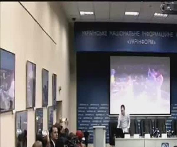 На пресс-конференции Джамалы в Киеве включили песню Лазарева