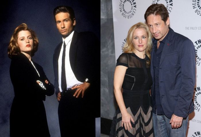 Звезды популярных сериалов прошлого тогда и сейчас (47 фото)