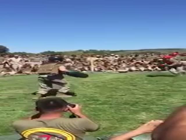 Тренировочный бой морских пехотинцев