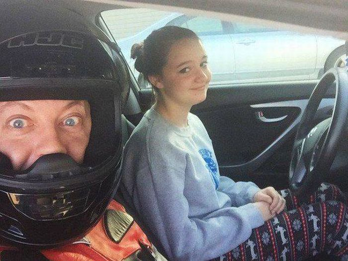 Днем, смешные картинки с инструктором по вождению