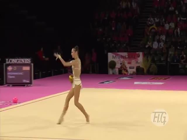 Великолепное выступление российской гимнастки Дарьи Кондаковой
