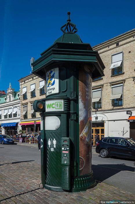 Оригинальные решения на улицах шведских городов (26 фото)