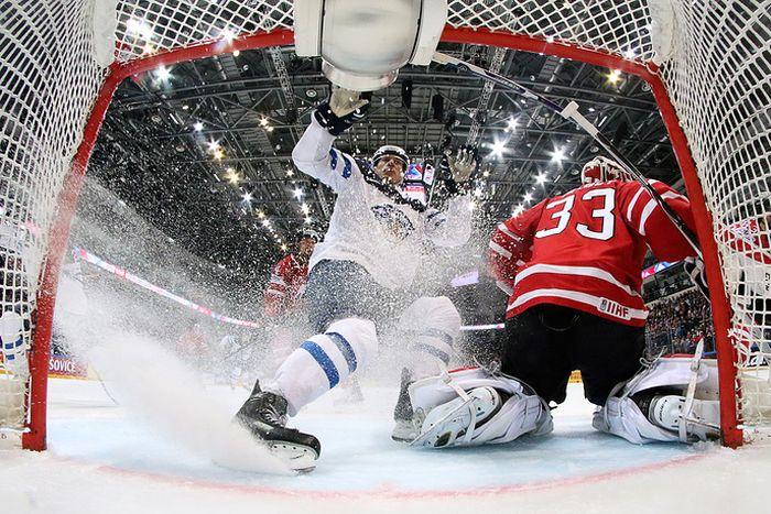 Сборная Канады - чемпион мира по хоккею (9 фото)